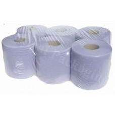 Blue centre feed roll 150 metre per roll 375 sheets