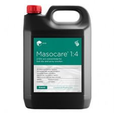 Evans Vanodine MASOCARE 1:4 concentrated teat dip/spray 5 Litres