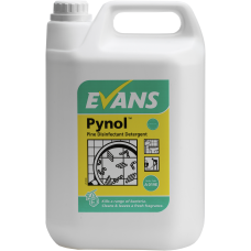 Evans Vanodine PYNOL pine disinfectant with detergent 5 Litres