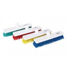 "12"" Soft Head Brush Head -In Blue, Green, Red and Yellow"