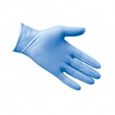 Powdered Blue Latex Disposable Gloves. Box of 100