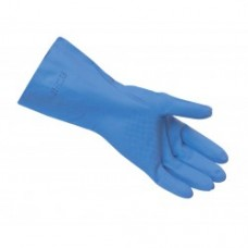 Heavy Duty Blue Nitrile Gloves.Sold in pack of 12
